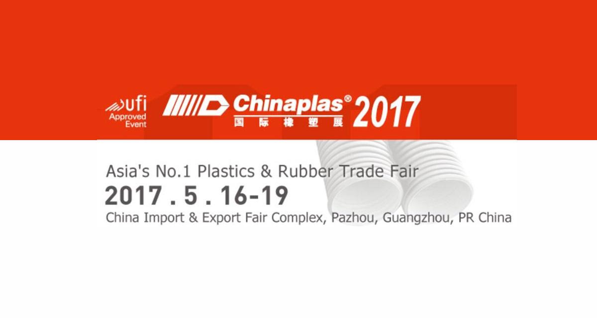 Chinaplas 2017, Guangzhou, PR CHINA